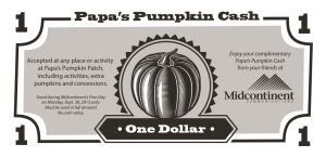 Papa's Pumpkin Cash