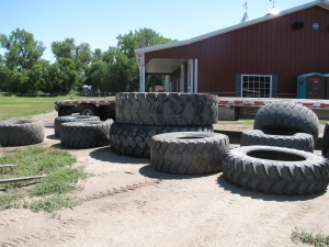 pile of BA tires