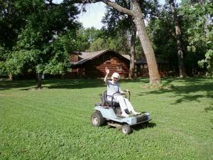 mrs. p mowing 0612