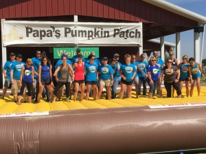 Basin Electric Power Cooperative provided more than 30 volunteers for the Day of Caring project at Papa's Pumpkin Patch.