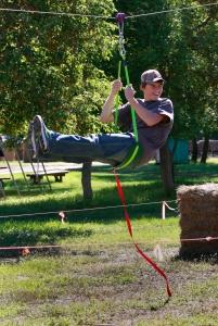 zip line fun guy
