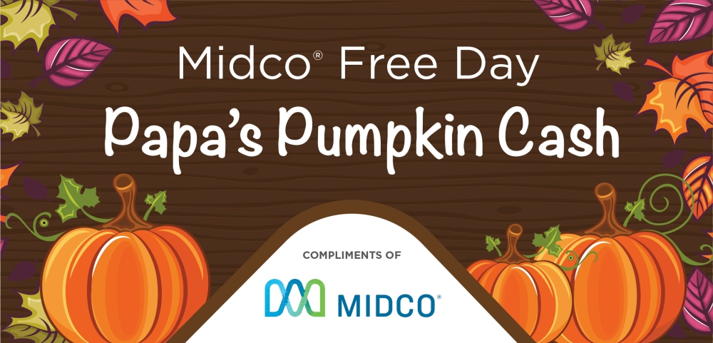 2017 Midco pumpkin cash