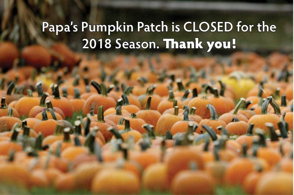 2018 header closed for season WP